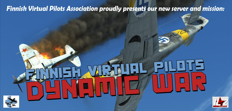 Finnish VirtualPilots - Dynamic War.